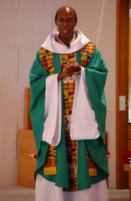 Fr. Okai Celebrates an African Mass