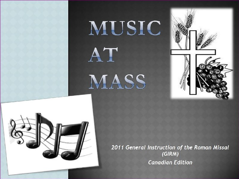 Liturgical Music Guidelines/Resources | Archdiocese of