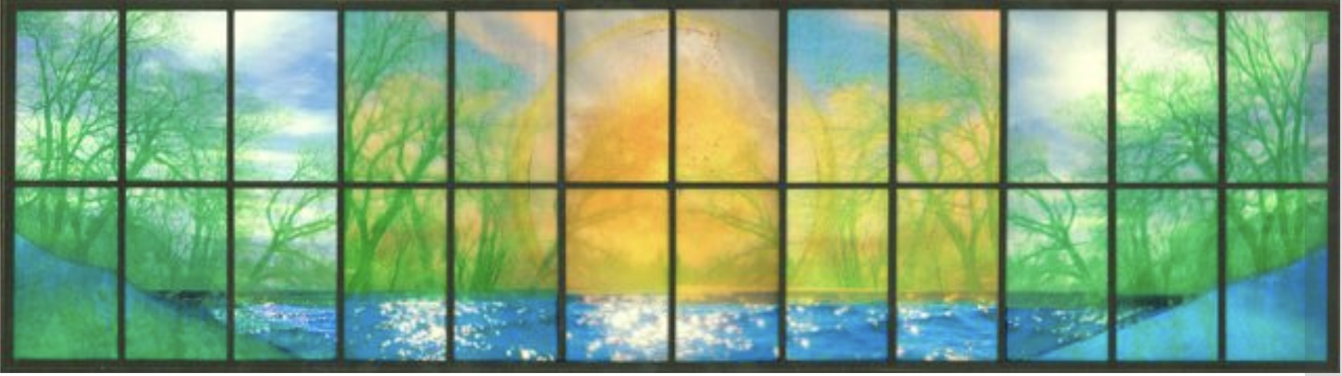 2018 Reverence for Life nature window image