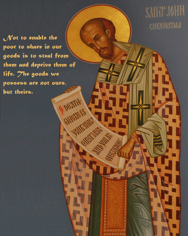 St. John Chrysostom quote