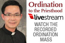 Ordination to the Priesthood Live Broadcast