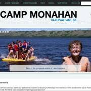 Camp Monahan Website