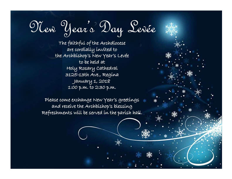 new years invitation