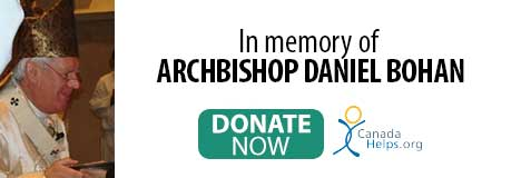 Donate in memory of Archbishop Bohan