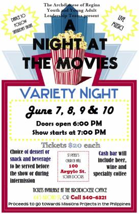 A Night at the Movies. Click for Details